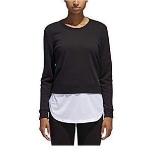 NWT Adidas Women's Layered Sweatshirt